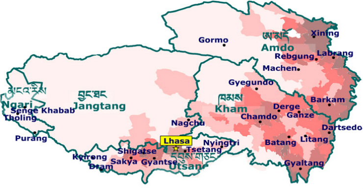 map-tibet